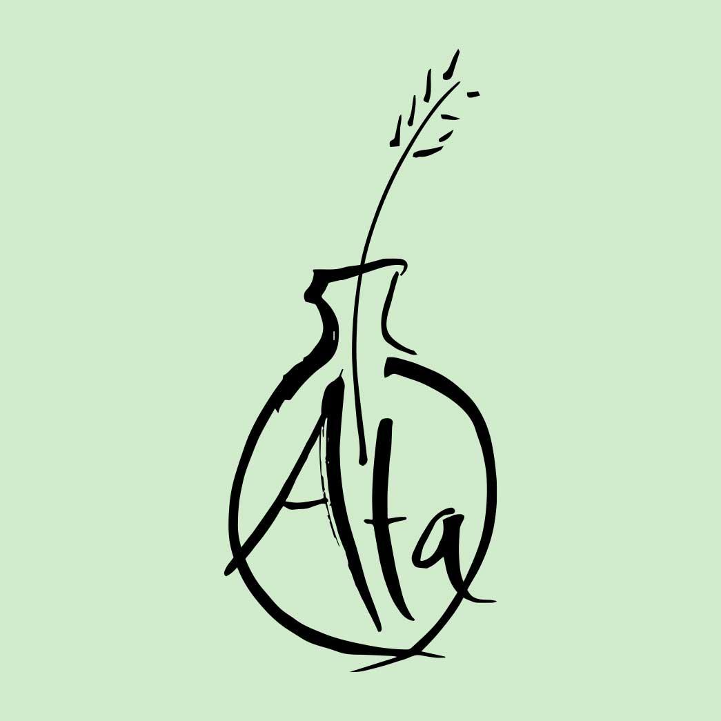 Ata Ceramics - Jn Creative Logo