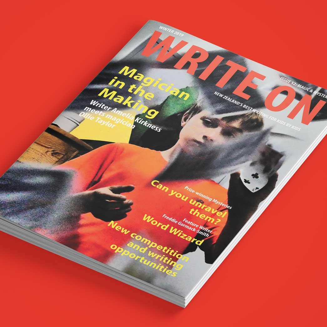 Write On Magazine - Jn Creative